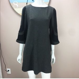 Muse Knit Dress 3/4 Bell Sleeve Size 6
